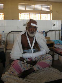 Sri Lankan journalist victim of violence