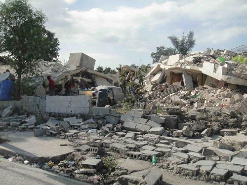 Haiti Destruction2 17 jan 2010