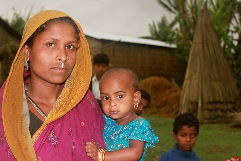 Assam.MotherAndChild